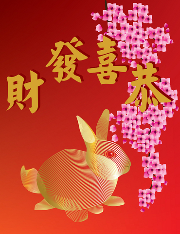 Celebrating the Good Luck for Artists Year of the Rabbit 2011
