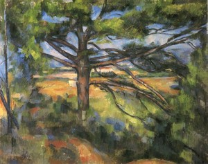 Paul Cezanne - Large Pine &amp; Red Earth - The Hermitage