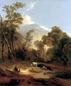 Alvan Fisher Pastoral Landscape 