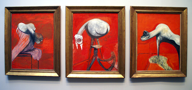 Francis Bacon - Studies for Figures at the Base of a Crucifixion